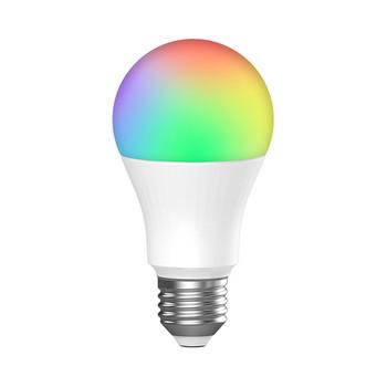 Интелигентна LED крушка с променящи се цветове 7.5 W с Wi-Fi