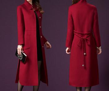 Актуално дамско дълго палто-няколко модела
