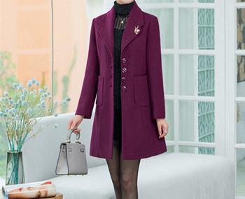 Модерно дамско вълнено палто-няколко модела