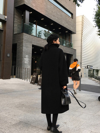 Дамско широко палто в два модела