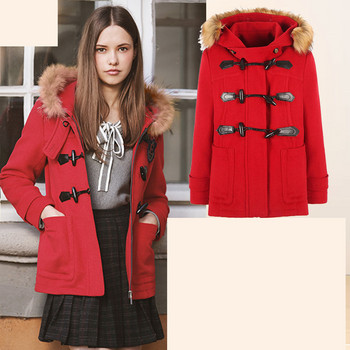 Ежедневно есенно палто прав модел с копчета