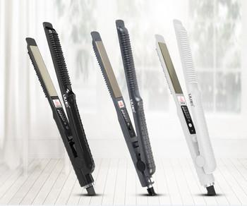 Μικρή φορητή πρέσσα μαλλιών για ίσιωμα ή όγκο μαλλιών