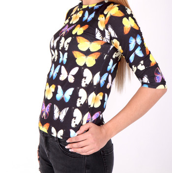 Дамска блуза пеперуда