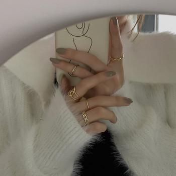 Ежедневен дамски комплект от пръстени