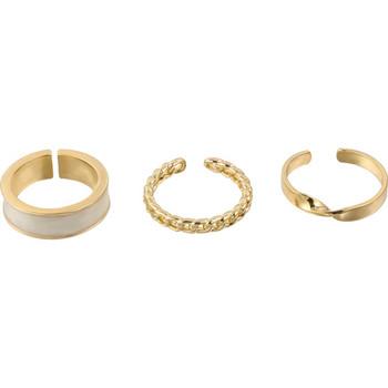 Дамски актуален комплект от три пръстена
