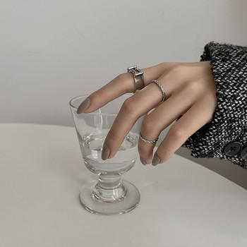 Ежедневен дамски комплект от три пръстена