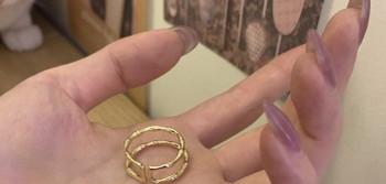 Ежедневен дамски комплект от два пръстена