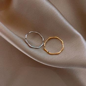 Ежедневен дамски пръстен изчистен модел