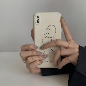 Модерен дамски комплект от пръстени изчистен модел