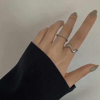 Актуален дамски комплект от пръстени