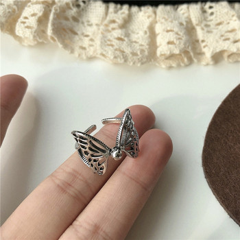 Ежедневен дамски пръстен с пеперуда