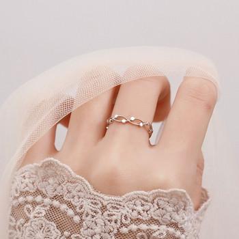 Ежедневен дамски тънък пръстен
