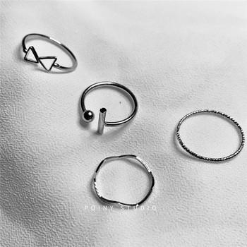 Дамски комплект от четири пръстена