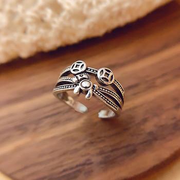 Ежедневен дамски пръстен широк модел