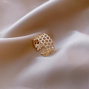 Широк модел дамски пръстен