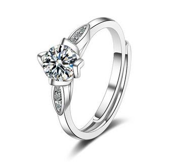 Елегантен дамски пръстен тънък модел