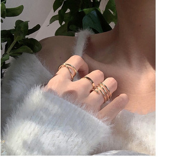 Модерен комплект от дамски пръстени