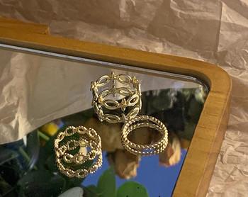 Дамски ежедневен комплект от три пръстена