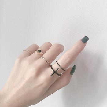 Актуален дамски ежедневен комплект от пръстени