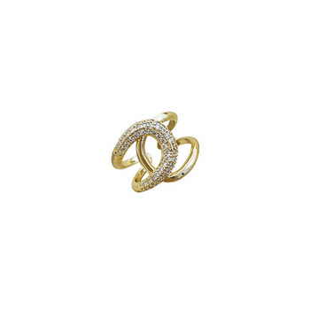 Актуален дамски пръстен изчистен модел