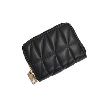 Γυναικείο πορτοφόλι κατασκευασμένο από έκο δέρμα και φερμουάρ