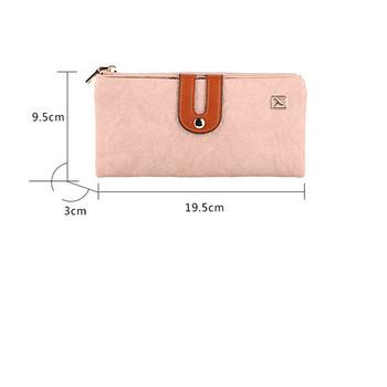 Γυναικείο πορτοφόλι νέο μοντέλο κατασκευασμένο από έκο δέρμα
