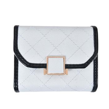 ΈκοδΔερμάτινο πορτοφόλι μοντέρνο με αγκράφα