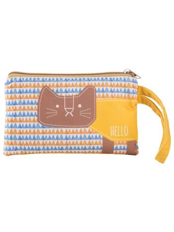 Καθημερινή υφασμάτινη τσάντα με χρωματιστό μοτίβο