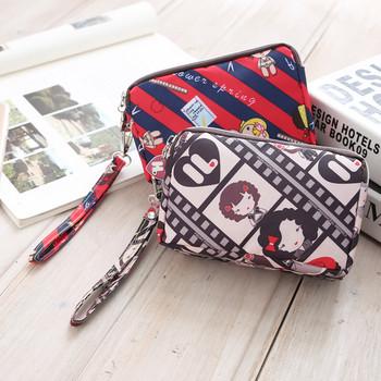 Μικρή γυναικεία τσάντα με φερμουάρ - διαφορετικά μοντέλα