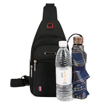 Малка мъжка чанта за през рамо тип раница