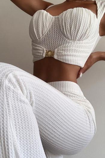 Елегантен комплект от бюстие и панталон тип чарлстон