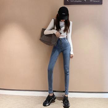 Νέο μοντέλο γυναικεία τζιν με φερμουάρ