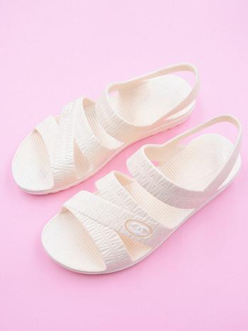 Ежедневни дамски сандали в няколко цвята -равна подметка