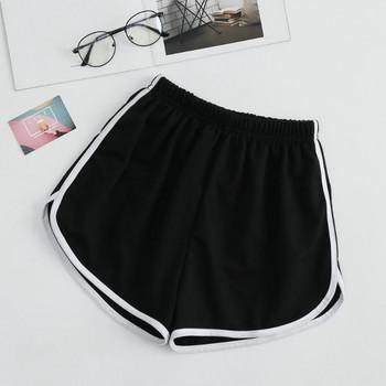 Къси ежедневни панталони с ластична талия