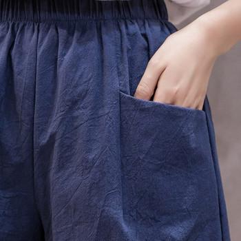 Ежедневни къси панталони с ластична талия и джобове
