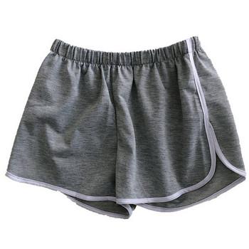 Ежедневни къси панталони с еластична талия и кант