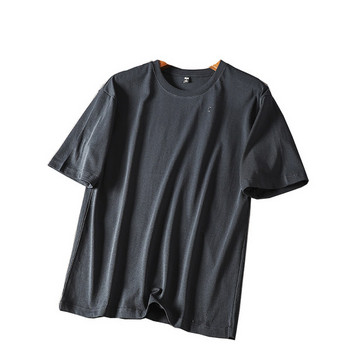 Ежедневна лятна тениска с къс ръкав и обло деколте