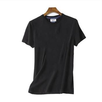 Изчистен модел лятна тениска за мъже в няколко цвята