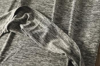 Спортно-ежедневна мъжка тениска с обло деколте и къс ръкав