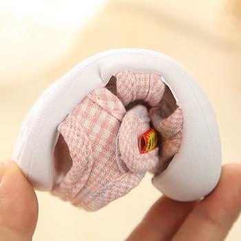 Ежедневни бебешки сандали с мека подметка и емблема -за момичета или момчета