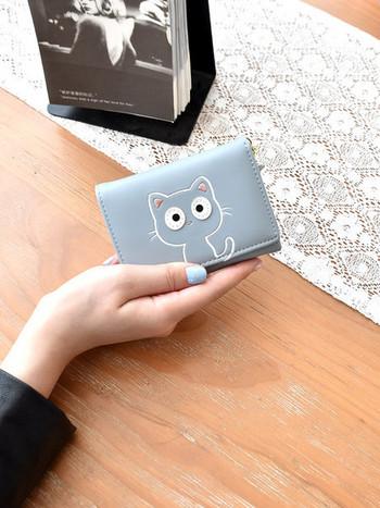 Νέο μοντέλο γυναικείο πορτοφόλι με κεντήματα - έκο δέρμα