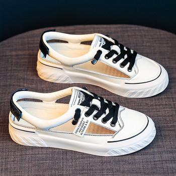 Дамски спортни сандали с връзки в два модела