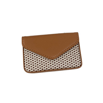 Γυναικείο πορτοφόλι για κάρτες με κούμπωμα