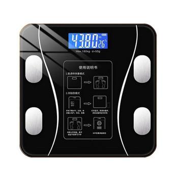 Οικιακή ηλεκτρονική ζιγαριά  για μέτρηση βάρους με φόρτιση Bluetooth