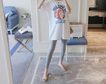 Γυναικεία μπλούζα με απλικέ και επιγραφή για έγκυες γυναίκες