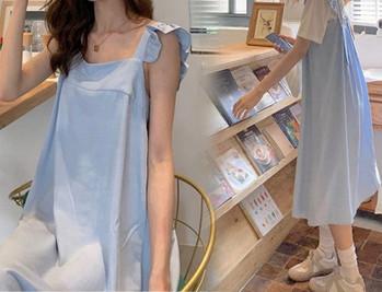 Μοντέλο casual γυναικείο φόρεμα για εγκύους