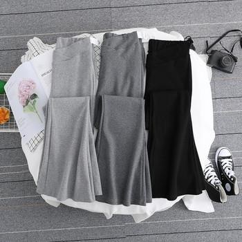 Γυναικείο αθλητικό παντελόνι απλό μοντέλο για έγκυες γυναίκες