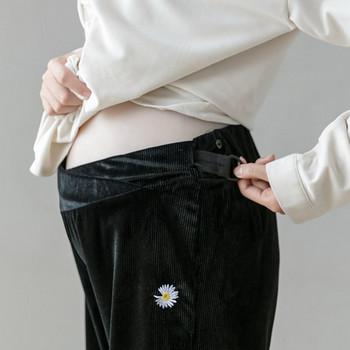 Γυναικείο καθημερινά παντελόνι  φαρδύ  μοντέλο για εγκύους