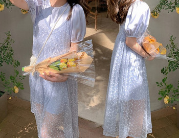 Γυναικείο casual μακρύ φόρεμα με μακριά ρούχα για έγκυες γυναίκες