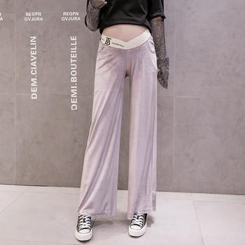 Γυναικείο παντελόνι μακρύ μοντέλο για έγκυες γυναίκες